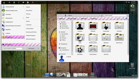 2. colorful theme for windows 7