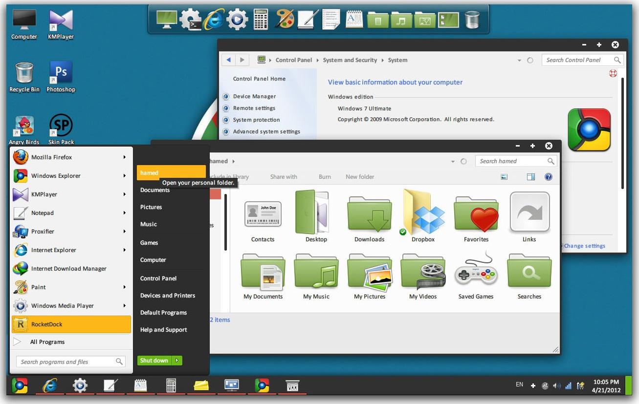 Google themes windows 10 -  2 Google Chromium Os Theme For Windows 7