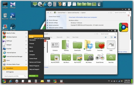 2. google chromium os theme for windows 7