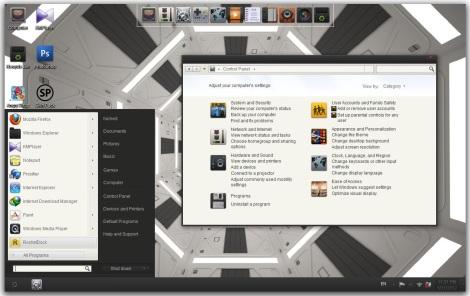 2. minimalist theme for windows 7