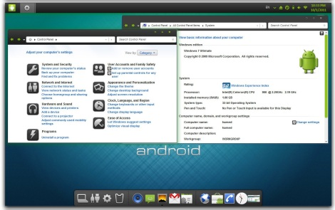 3. android gingerbread theme for windows 7