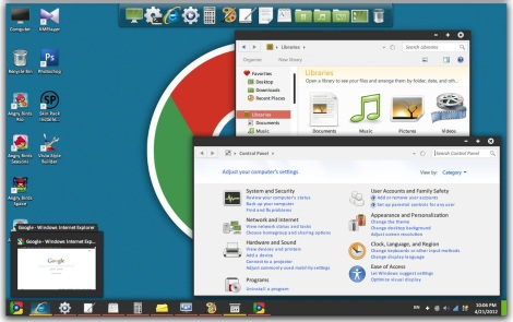 3. chromuim skinpack for windows 7