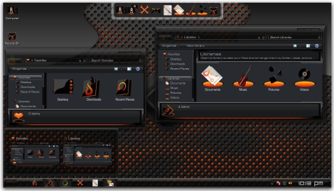 3. dark theme for windows 7