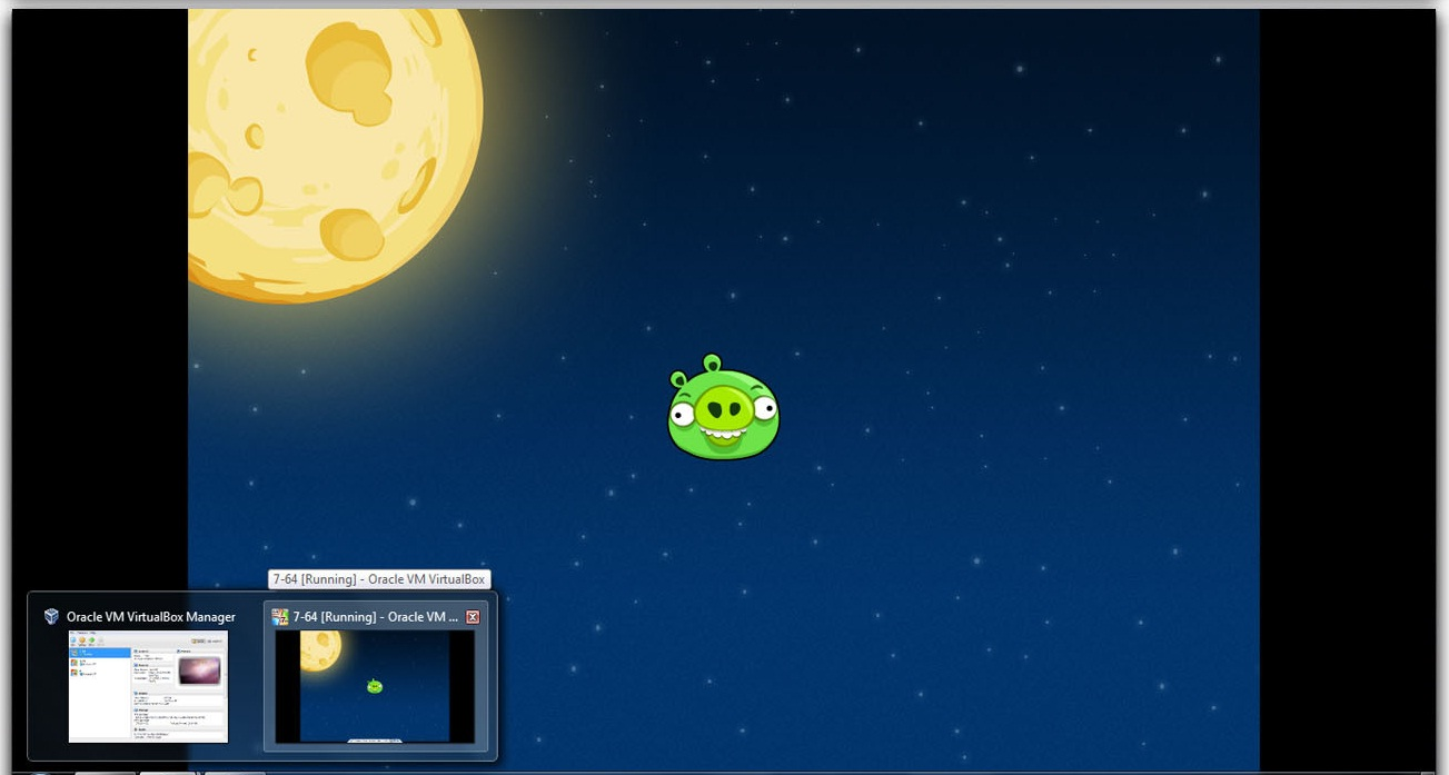 Angry Birds Space Theme for Windows 7