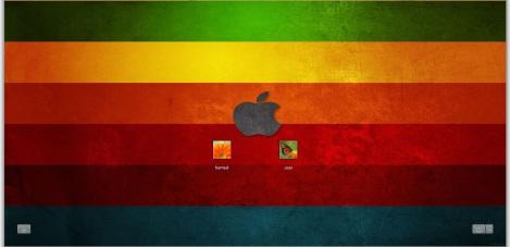 4. colorful theme windows 7 login screen