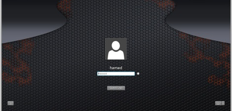 4. fire theme login screen for windows 7