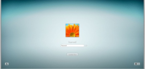4. frost login screen for windows 7