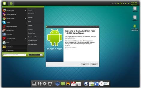 4. tema android untuk windows 7
