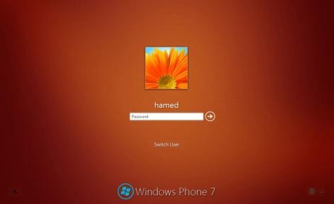 4. windows phone login screen for windows 7