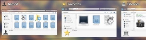 5. elune theme for windows 7