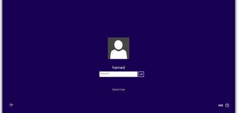 5. Windows 8 login screen for windows 7
