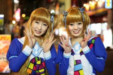 9. windows 8 anime mascot - yuu madobe and ai madobe