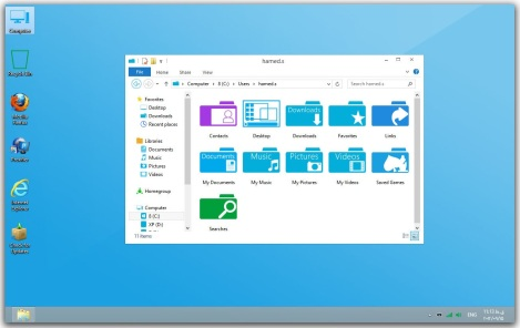 2. metro style for windows 8