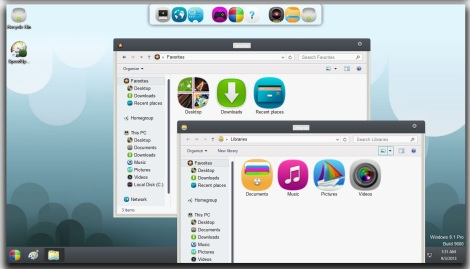 4. unique theme for windows 8