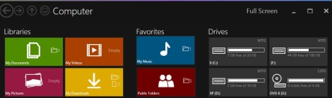 5. metro style theme for windows 8