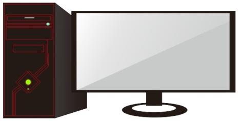 0. preview cara membuat komputer dengan coreldraw