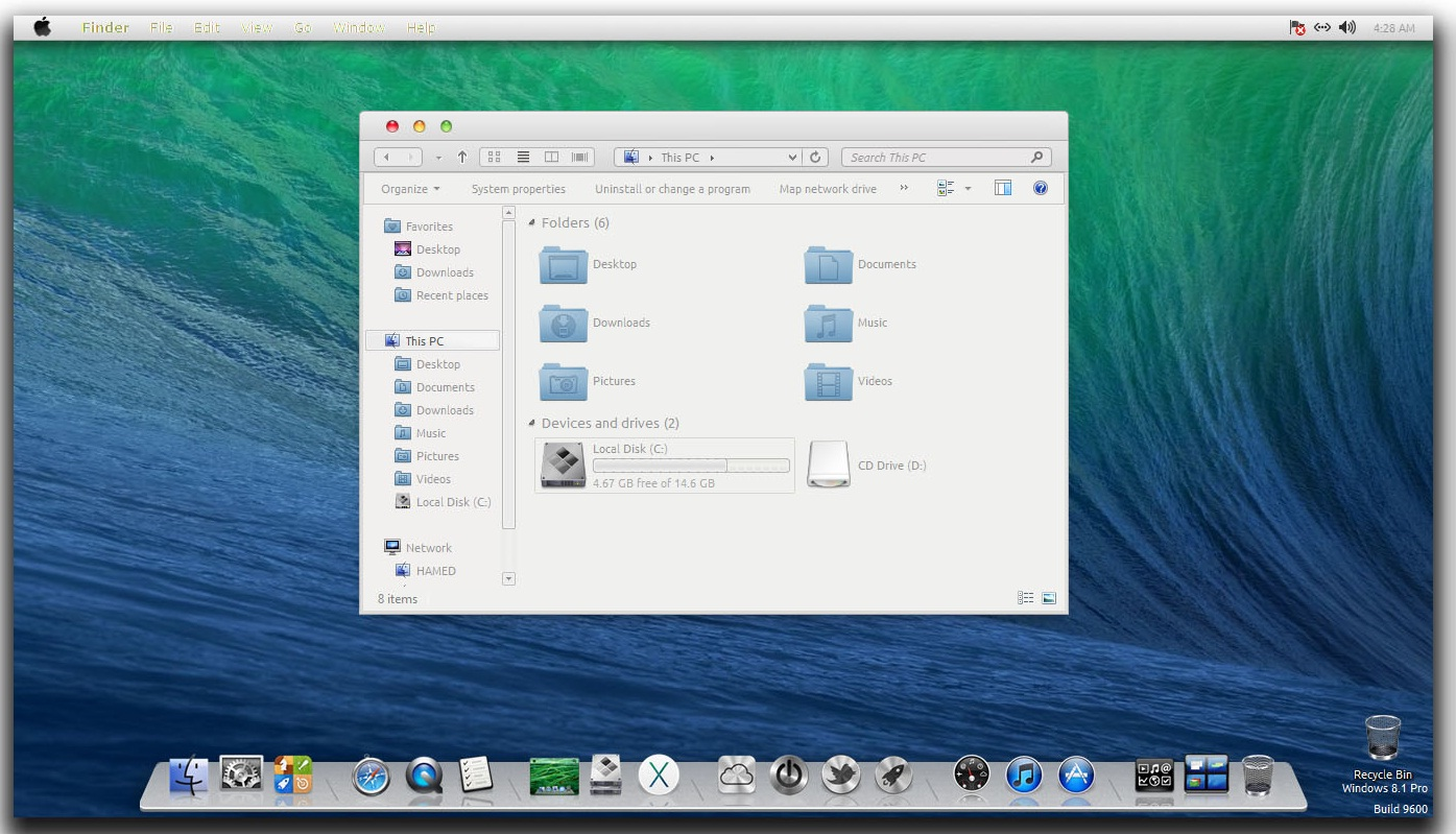 windows 8 1 vs maverick Os x 109 mavericks for mac, free and safe download os x 109 mavericks latest version: the new version of os x for mac i think they finally out did windows 8 what do i think about 109 mavericks in a word not much they ought.