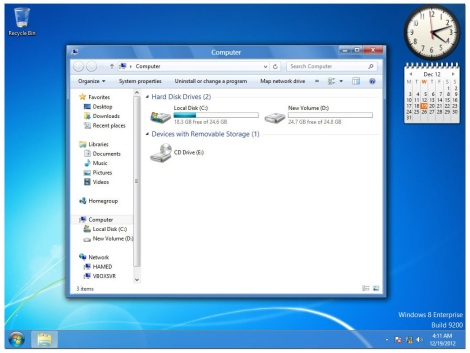 1. Windows 7 theme for windows 8