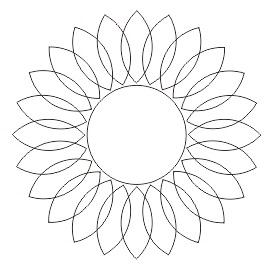 Cara Membuat Bunga Matahari Dengan Coreldraw Keripik Citul