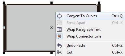 14. convert to curves - coreldraw