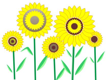 Cara Membuat Bunga Matahari Dengan Coreldraw