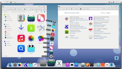 Apple iOS7 Theme untuk Windows 8