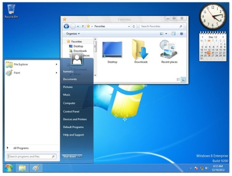2. mengubah windows 8 menjadi windows 7
