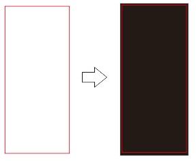2. persegi merah