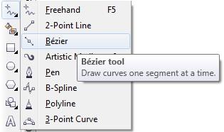 4.1 bezier tool - coreldraw