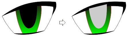 4.18 transparansi mata - coreldraw