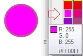 6. warna rgb palet