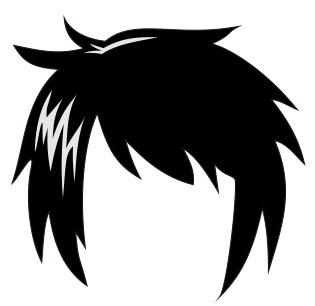 12. rambut pada anime dan manga