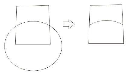 22. intersecting object