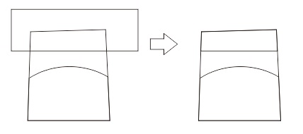 23. intersecting object in coreldraw
