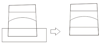24. object intersecting in corel
