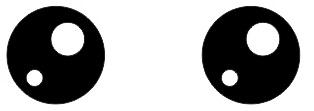 3.3 membuat mata hewan dengan coreldraw