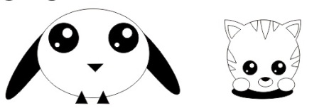 3.4 cara membuat mata karakter di coreldraw
