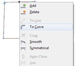 31. curving object in coreldraw