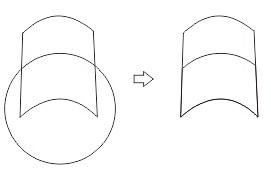 33. intersect coreldraw