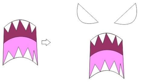 35. cara membuat ekspresi marah anime dan manga coreldraw