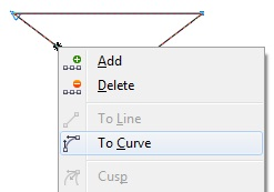 7. to curve coreldraw