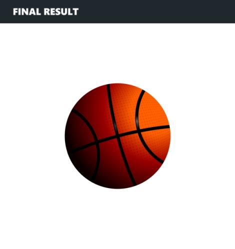 1. basketball vector