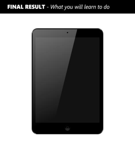 1. cara membuat ipad atau iphone dengan coreldraw