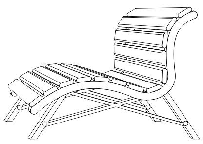 11. cara membuat kursi santai di corel draw