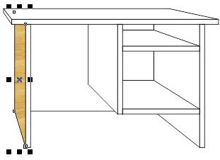 12. cara memberi warna kayu di corel draw