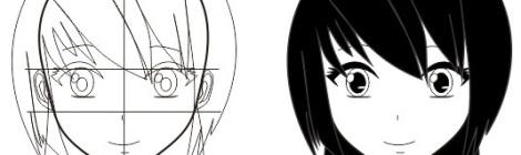 12. tutorial membuat wajah manga dan anime dengan corel draw 2