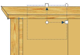 14. cara menambah efek kayu di coreldraw