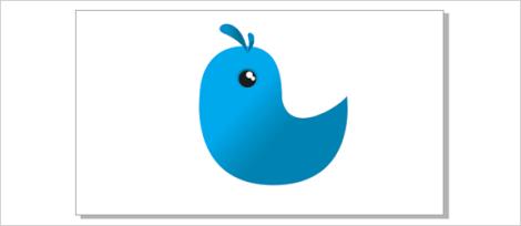 15. cara membuar twitter di coreldraw