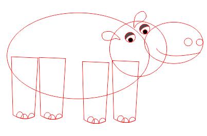 15. cara menggambar hewan di coreldraw