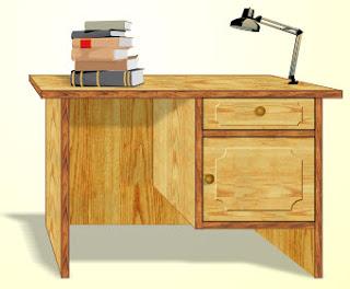17. cara membuat meja belajar di coreldraw dengan mudah
